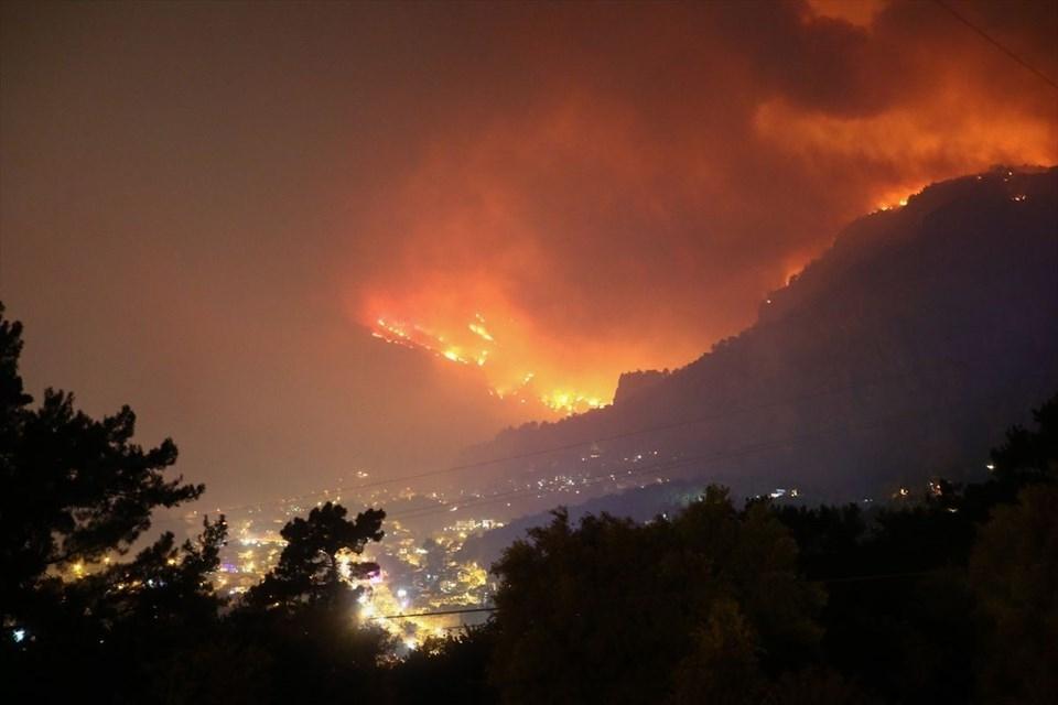 Muğla'daki orman yangını! 18 saat sonra kontrol altına alındı 1