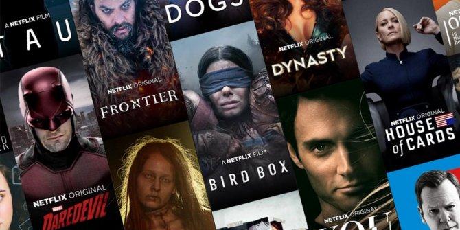 Netflix'in en beğenilen 10 yapımı