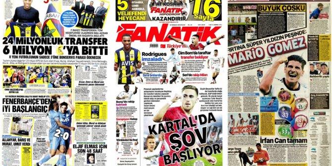 Günün spor manşetleri (14 Temmuz 2019)