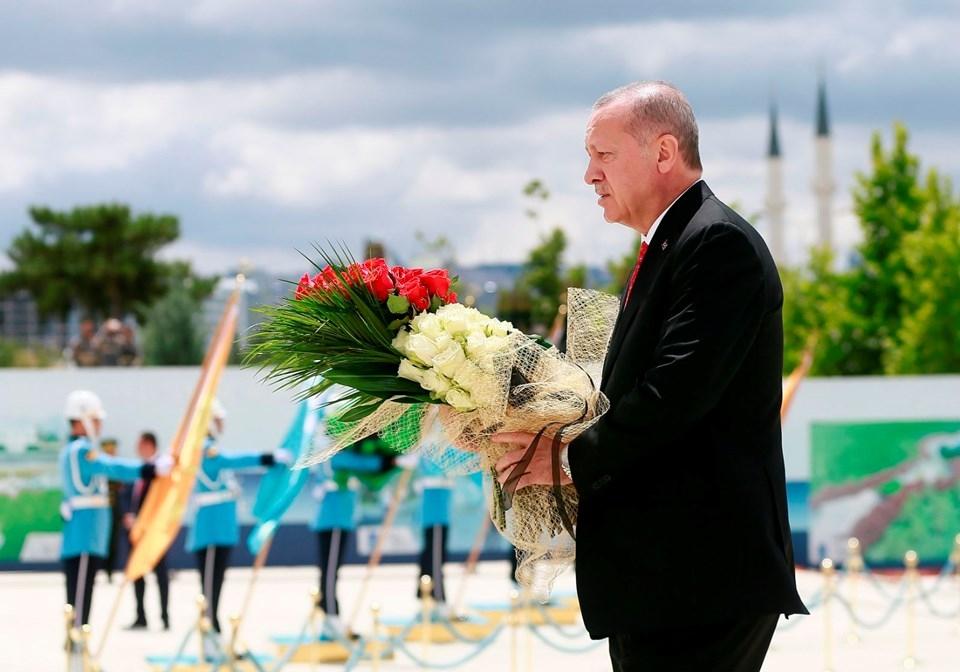 Ankara'da ilk tören Beştepe'de! İşte ilk görüntüler 1