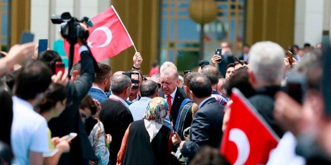 Ankara'da ilk tören Beştepe'de! İşte ilk görüntüler