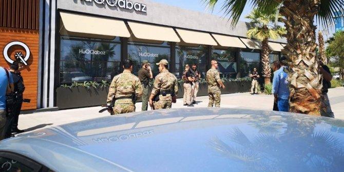 Erbil'deki restorana silahlı saldırıdan ilk görüntüler