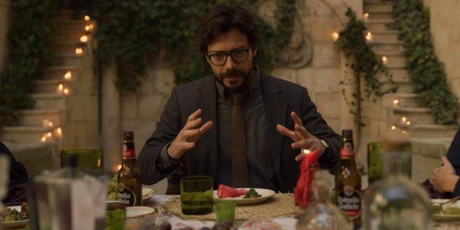 Merakla beklenen La Casa de Papel 3. sezondan yeni fotoğraflar yayınladı