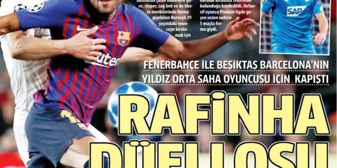 Günün spor manşetleri (25 Ağustos 2019)