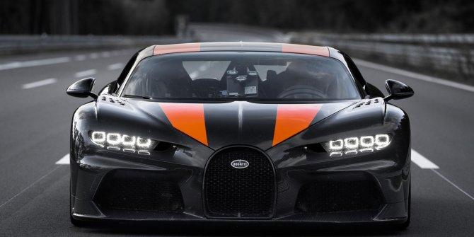 Dünyanın en pahalı ve en güçlü arabasının hız rekoru: 490 km/s
