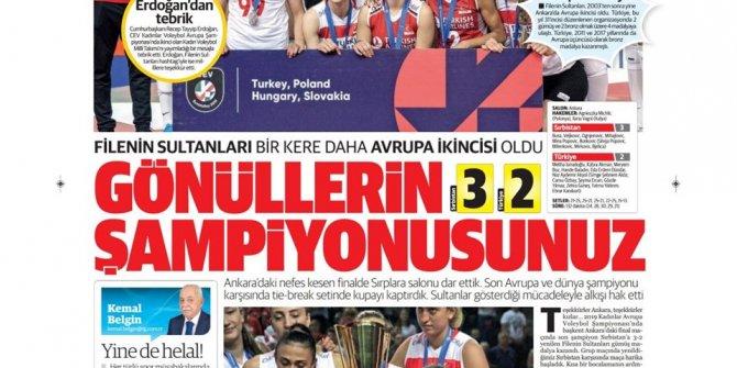 Günün spor manşetleri (09 Eylül 2019)