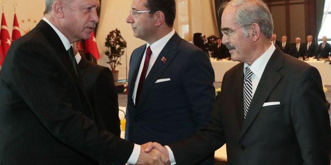 Beştepe'de büyükşehir başkanları toplantısı! İşte o kareler