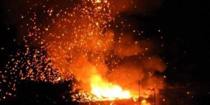 KKTC'de askeri bölgede patlama (Sahilde sabahladılar)