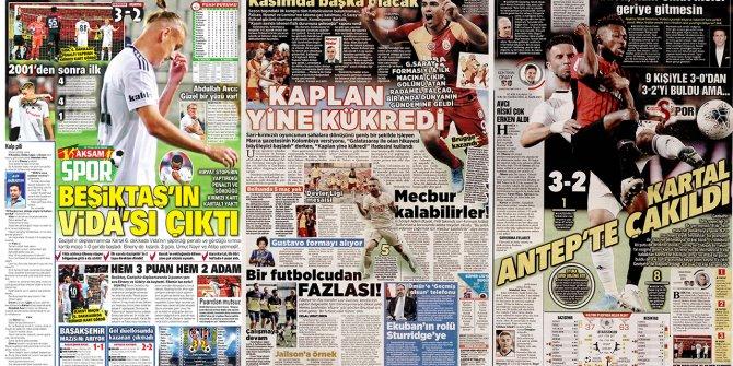 """Günün spor manşetleri (15 Eylül 2019) """"Beşiktaş'ın Vida's"""
