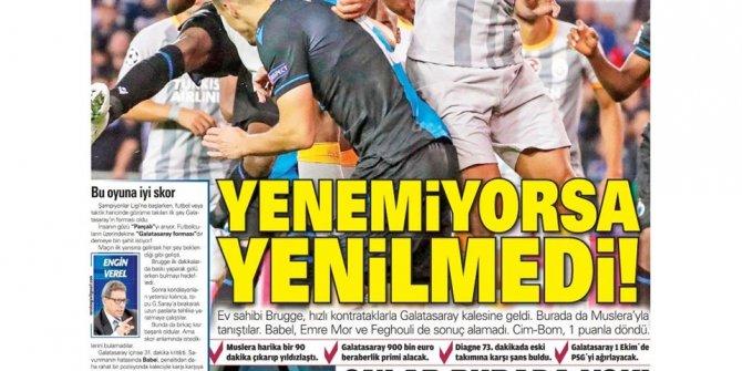 Günün spor manşetleri (19 Eylül 2019)