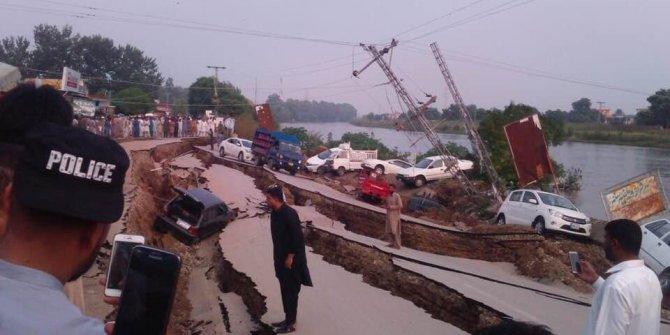 Pakistan'da 5.8 büyüklüğünde deprem