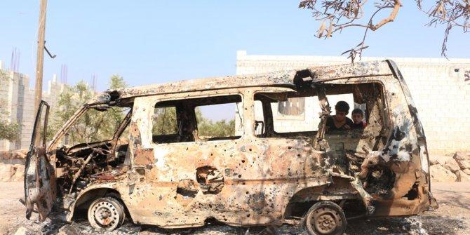Anadolu Ajansı Bağdadi'nin öldürüldüğü iddia edilen yeri görüntüled