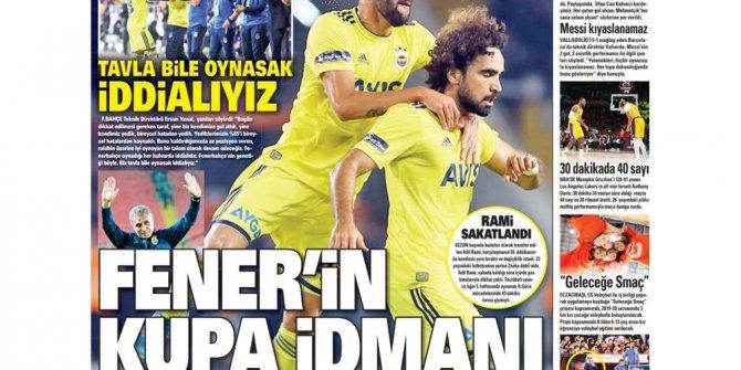 Günün spor manşetleri (31 Ekim 2019)