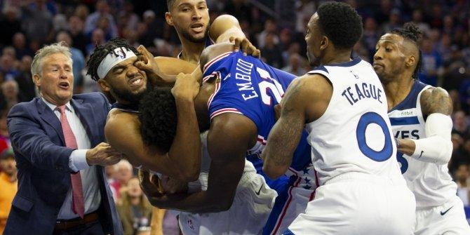 NBA'in unutulmaz kavgaları..