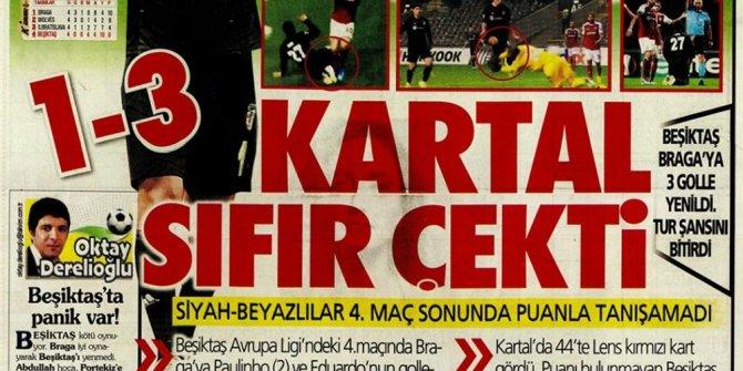 """Günün spor manşetleri (8 Kasım 2019) """"Galatasaray S.O.S veriyor&quo"""