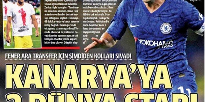 """Günün spor manşetleri (11 Kasım 2019) - """"10'un adı fırtına&quo"""