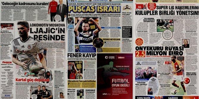 """Günün spor manşetleri (15 Kasım 2019) """"Lokomotiv Moskova Ljajic"""