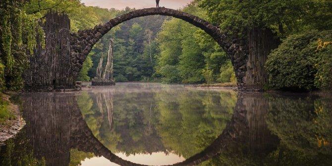 Doğanın resmettiği muhteşem manzaralar