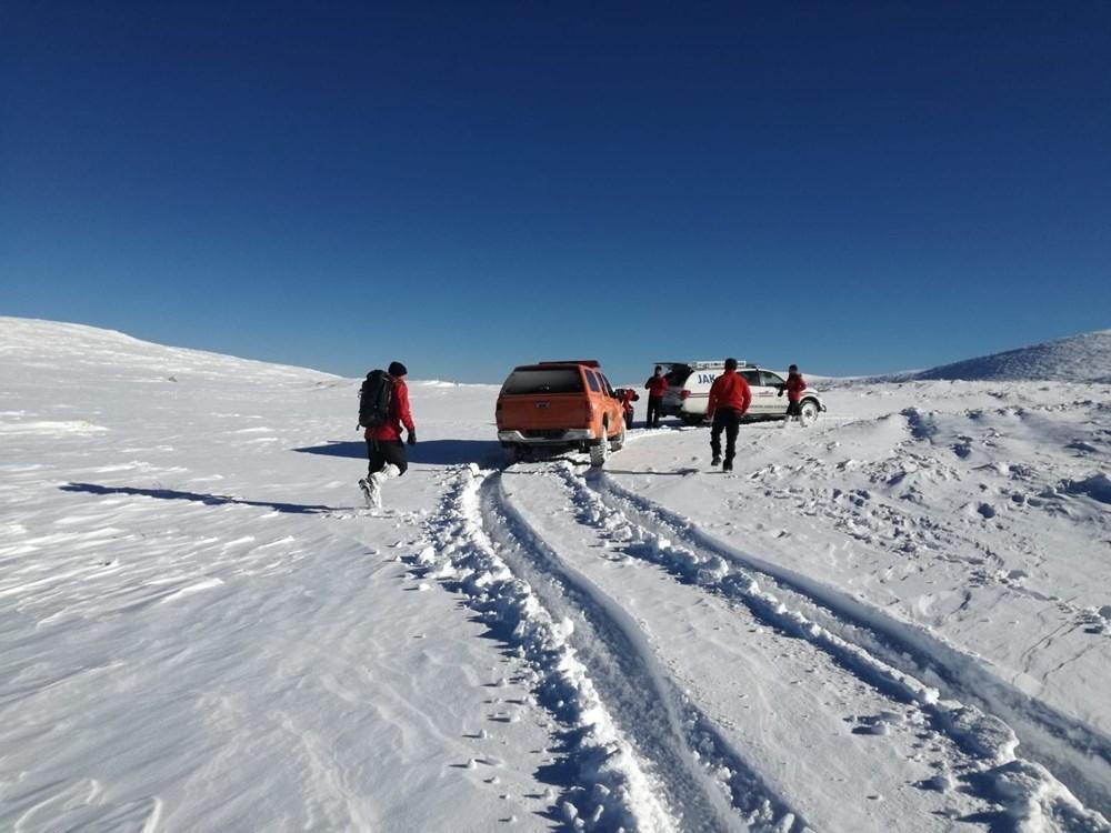 Uludağ'da 2 dağcı kayboldu 1