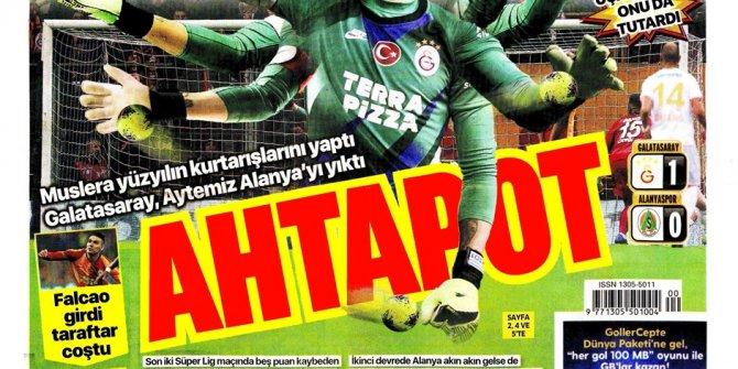 Günün spor manşetleri (8 Aralık 2019) 'Ahtapot Muslera'