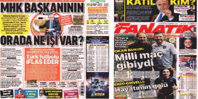 """Günün spor manşetleri (12 Aralık 2019)  """"Milli maç gibiydi"""""""