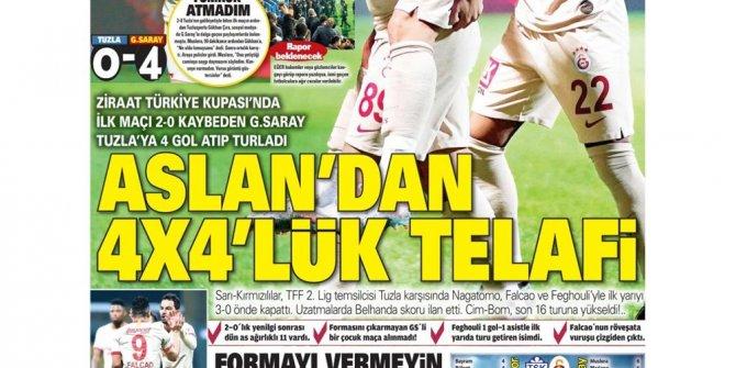 'Fenerbahçe yolu açıldı'  Günün spor manşetleri