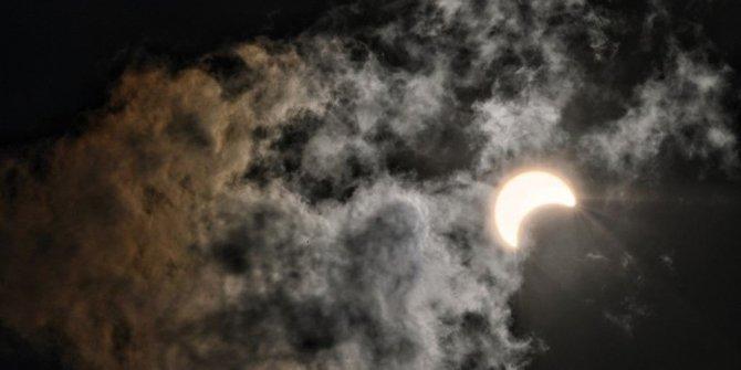 26 Aralık 2019 Parçalı Güneş Tutulması böyle izlendi