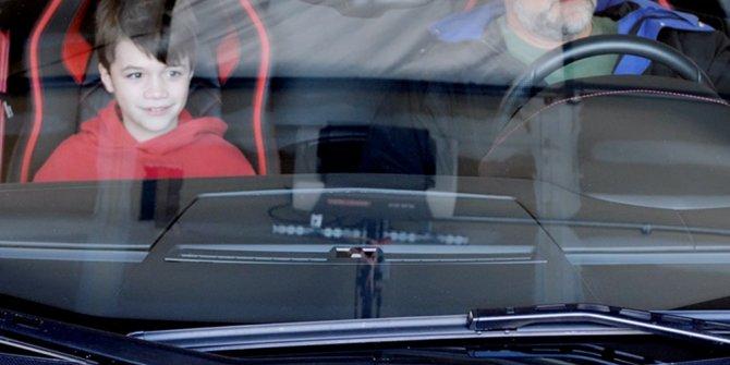 3D yazıcı ile Aventador üreten baba ve oğula unutulmaz sürpriz