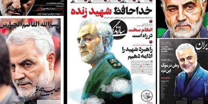 Kasım Süleymani suikastının ardından İran gazeteleri manşetleri