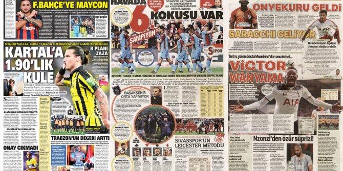 """Günün spor manşetleri (05 Ocak 2020)  """"Kartal'a 1.90'lık"""