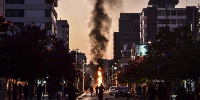 Şili'de yapılan müzik festivali savaş alanına döndü