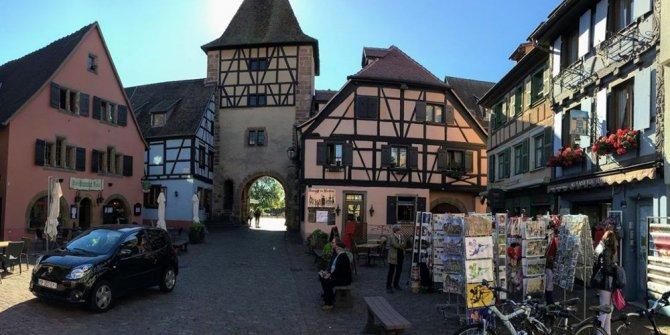 Adı Türk, kendi Alman ruhlu bir Fransız olan rüya kasaba: Turckheim