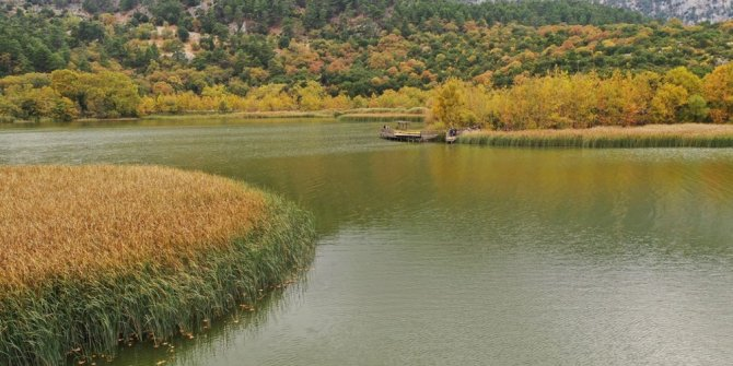 Kovada Gölü alarm veriyor