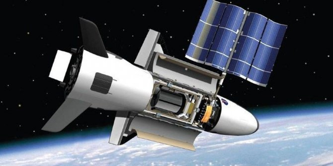 ABD'nin uzay uçağı X-37B'den yeni kare