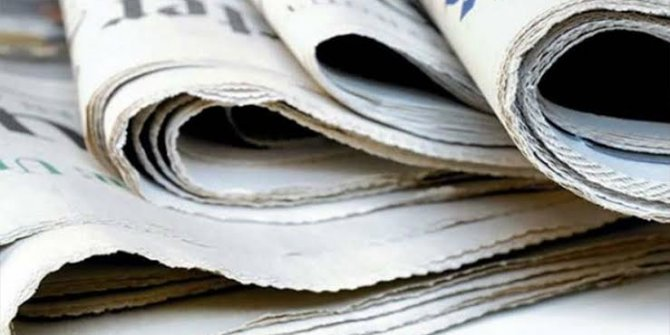 Gazeteler bugün ne yazdı? 2 Haziran Gazete Manşetleri