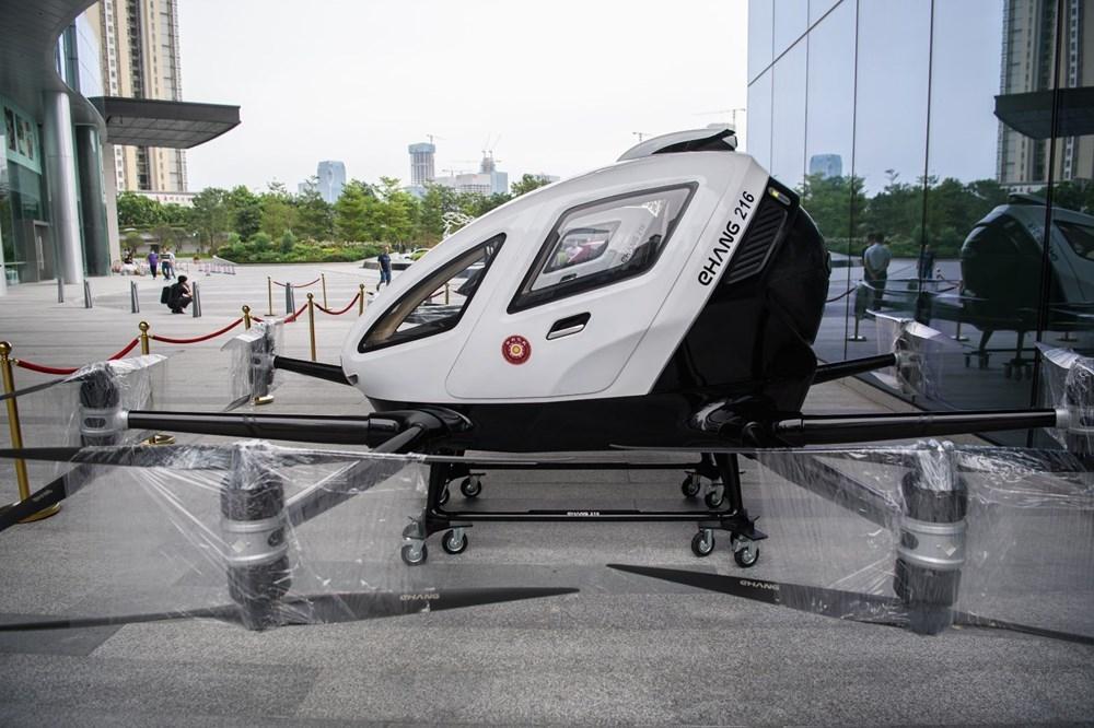 Çin'de yolcu taşıyabilen dronelar hizmete hazır 1