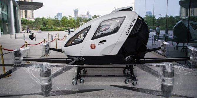 Çin'de yolcu taşıyabilen dronelar hizmete hazır
