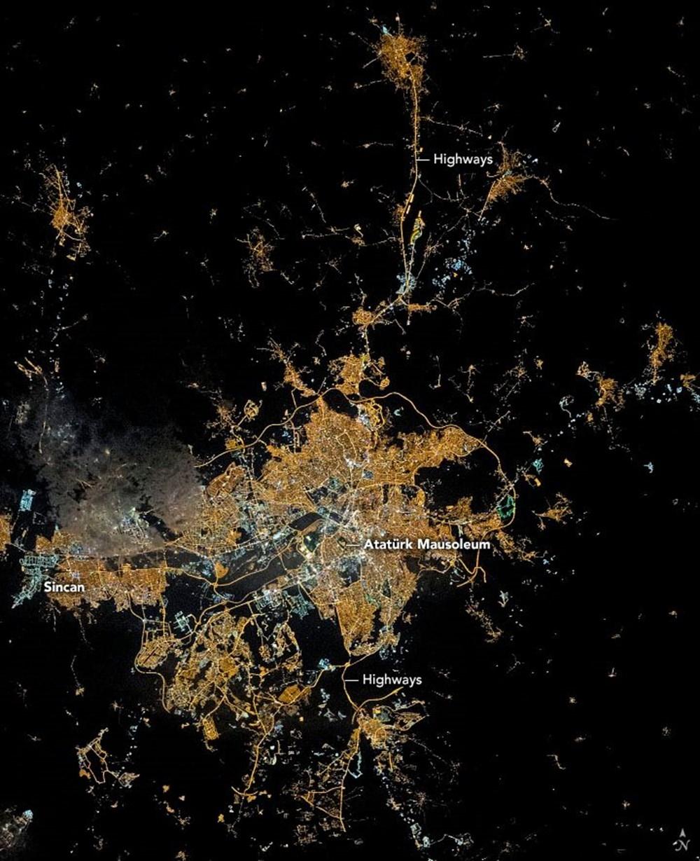 NASA'dan 'Ankara' paylaşımı (Astronotların gözünden gezeg 1
