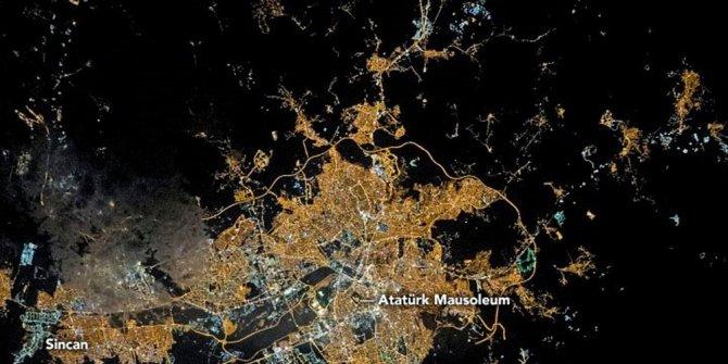 NASA'dan 'Ankara' paylaşımı (Astronotların gözünden gezeg