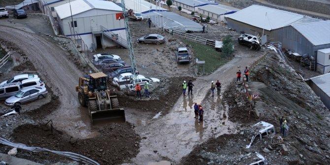 Artvin'deki sel ve heyelan felaketi