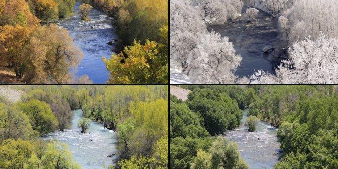 Tunceli'nin Ovacık ilçesi 4 mevsim çekilen fotoğraflarıyla büyülüyo