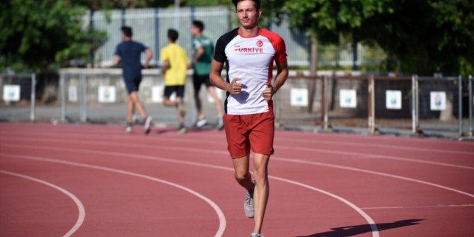 Rekortmen atlet Mikdat Sevler'in gözü olimpiyat madalyasında