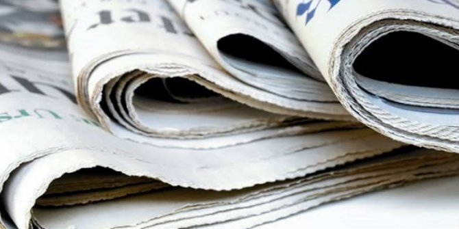 Günün  Gazete Manşetleri 16 Eylül 2020