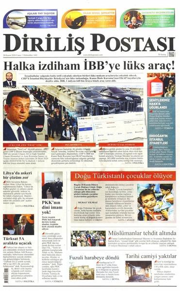 Günün Gazete Manşetleri 21 Kasım 2020 Gazeteler Ne Diyor? 1