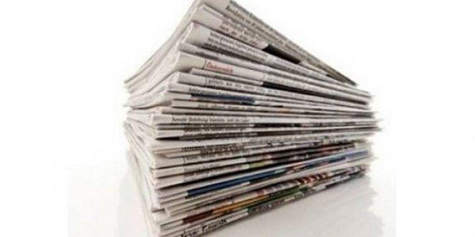 Günün Gazete Manşetleri 1 Aralık 2020 Gazeteler Ne Diyor?
