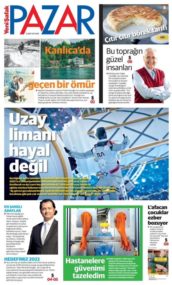 Günün Gazete Manşetleri 21 Şubat 2021 Gazeteler Ne Diyor? 1