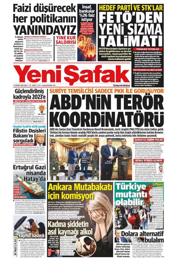 Günün Gazete Manşetleri 23 Mart 2021 Gazeteler Ne Diyor? 1