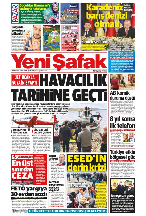 Günün Gazete Manşetleri 11 Nisan 2021 Gazeteler Ne Diyor? 1