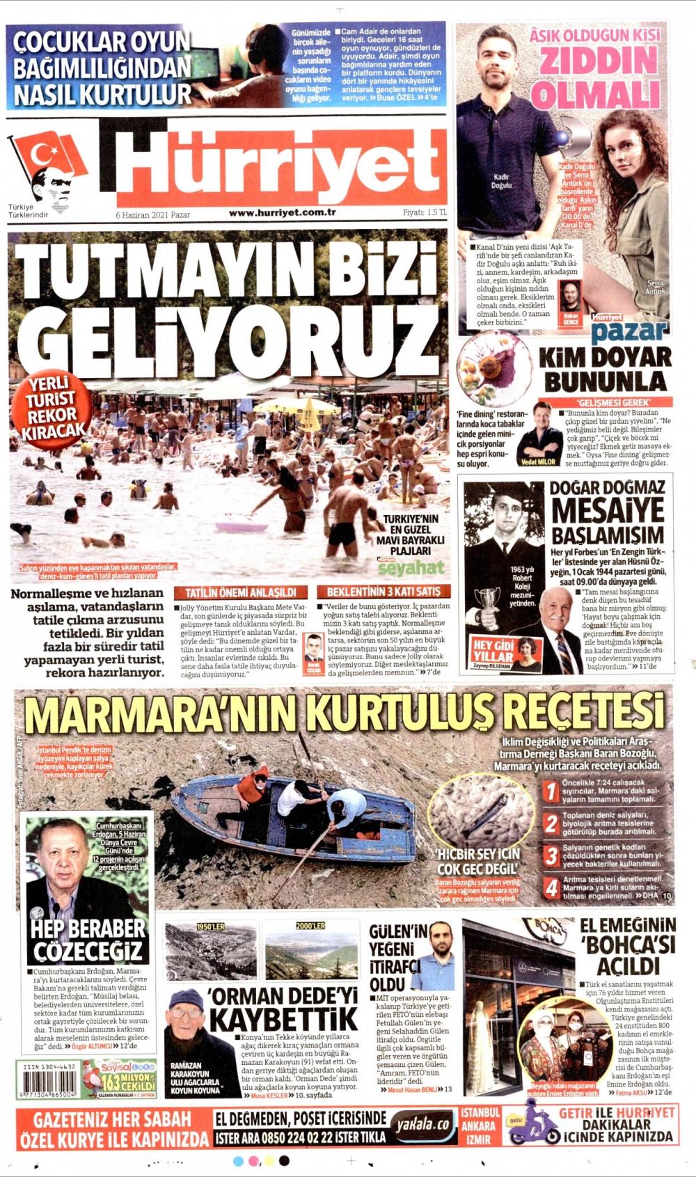Günün Gazete Manşetleri  5 Haziran 2021 Gazeteler Ne Diyor? 1