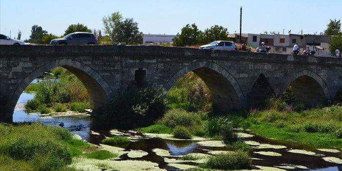 Koca Sinan'ın eseri 450 yıllık taş köprü araç trafiğine kapanacak